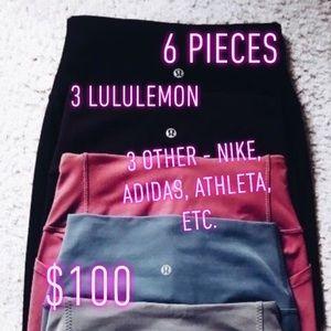 WOMENS LULULEMON MYSTERY BOX 6/$100